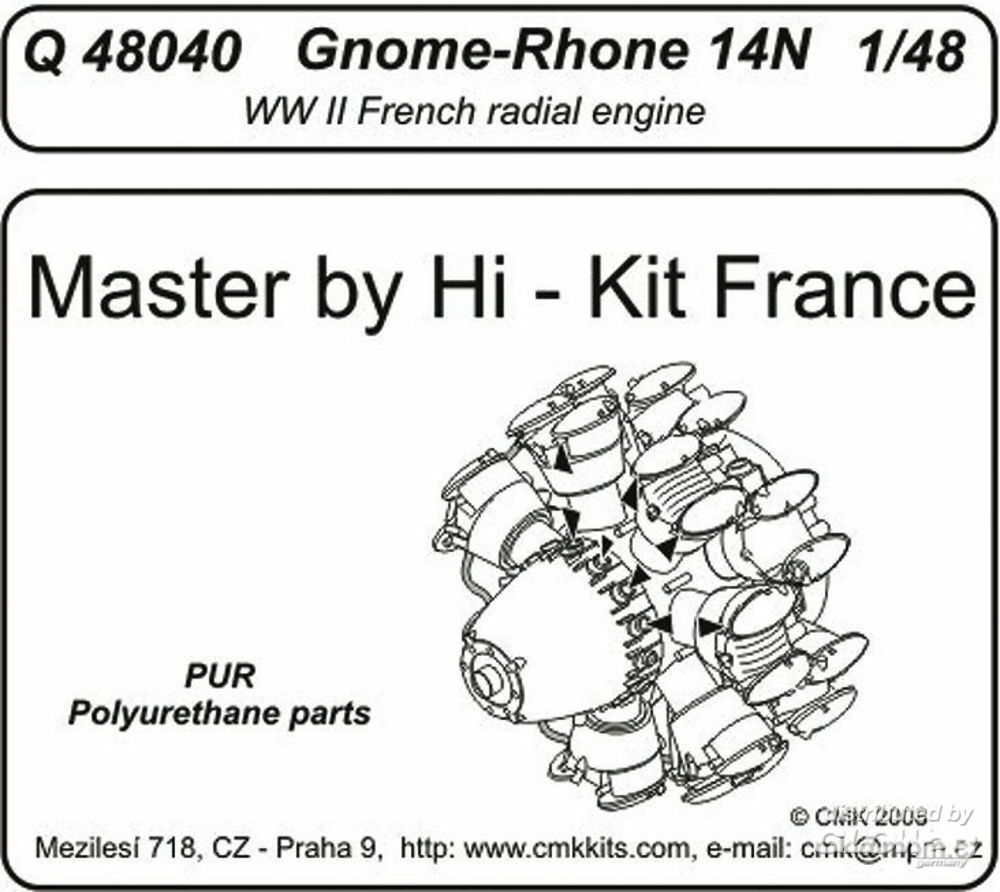CMK 129-Q48040 Gnome-Rhone 14 N Engine