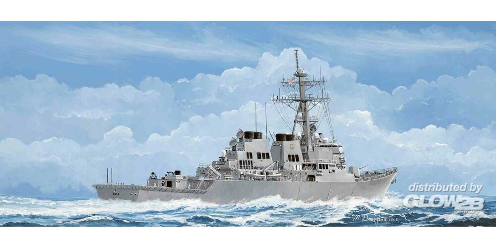 Trumpeter 04524 USS Cole DDG-67 in 1:350
