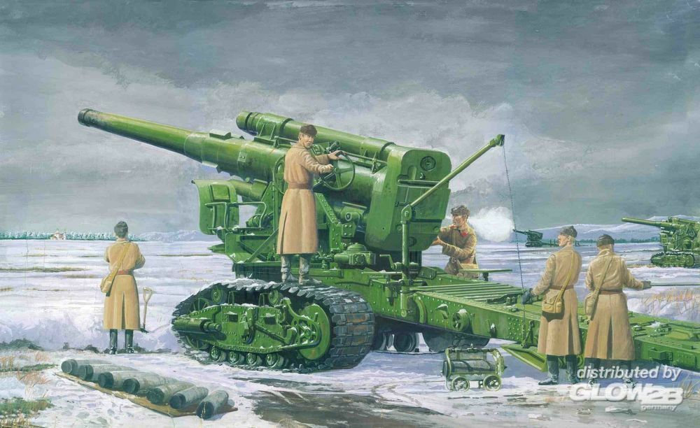 Trumpeter 02307 Russian Army B-4 M1931 203mm Howitzer in 1:35