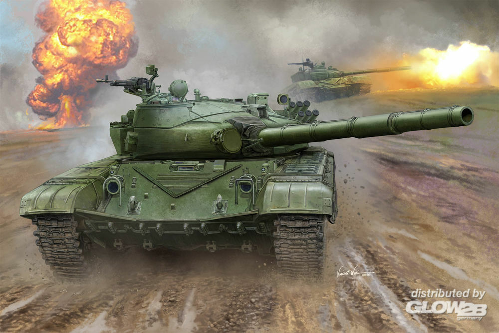 Trumpeter 00924 Russian T-72B MBT in 1:16