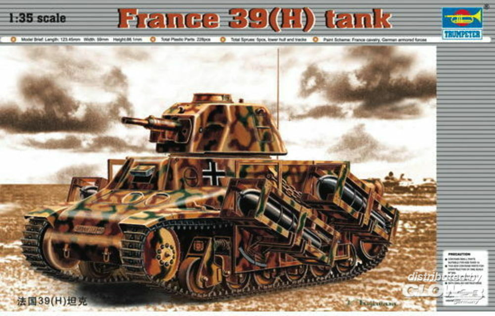 Trumpeter 00352 PzKpfw 39(H) in 1:35