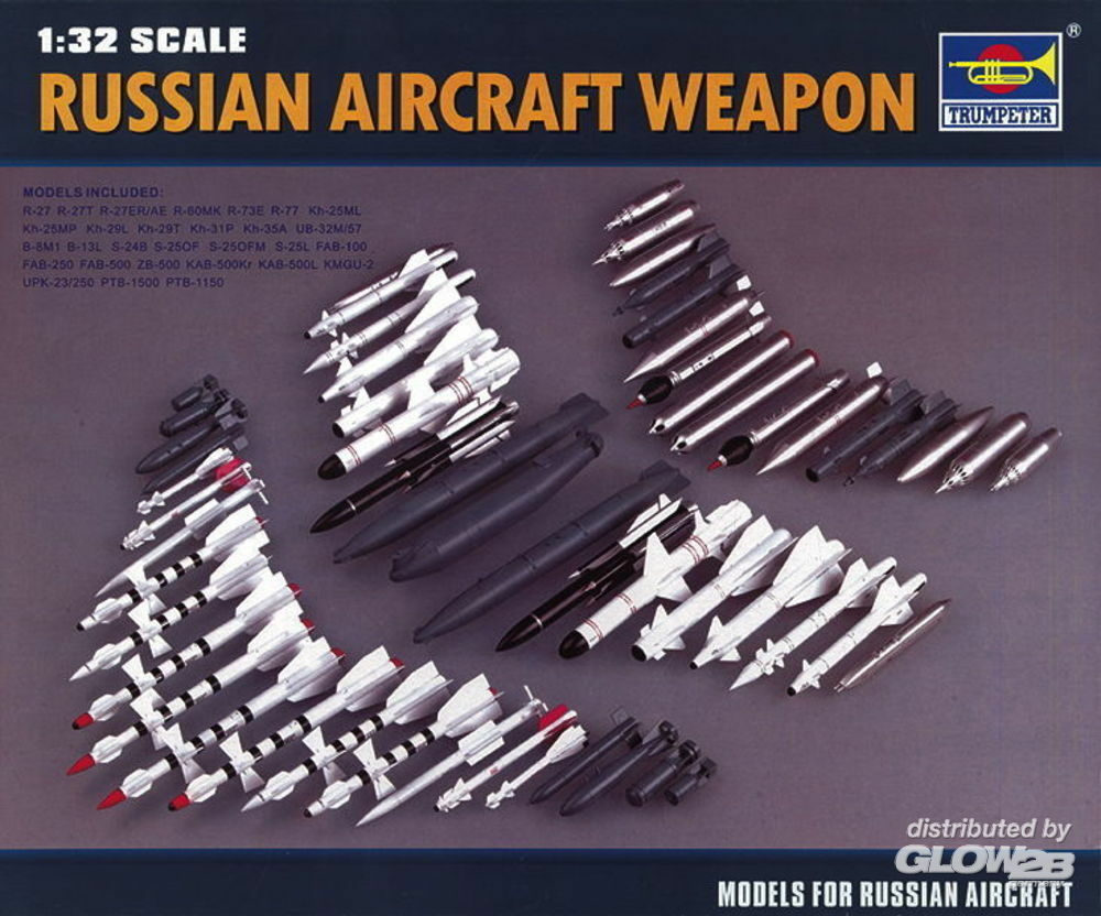 Trumpeter 03301 Russian Aircraft Weapon in 1:32