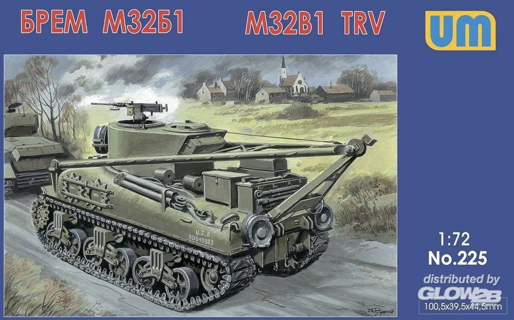 Unimodels UM225 M32B1 tank recovery vehicle in 1:72