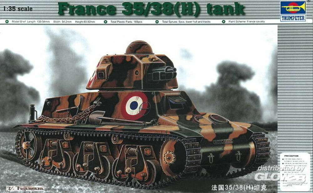 Trumpeter 00351 PzKpfw 35/38(H) in 1:35