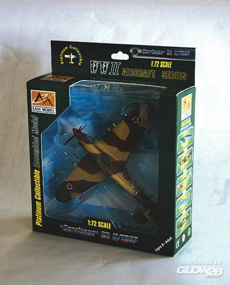 Easy Model 37268 Hawker Hurricane MKII Trop Jugoslawien in 1:72