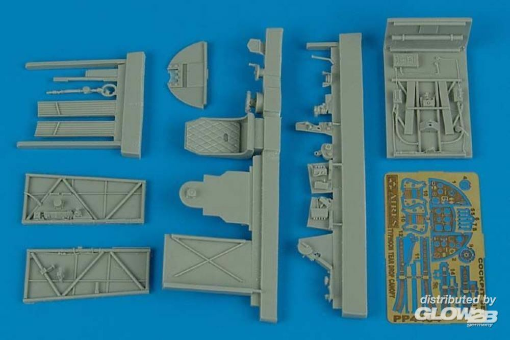 Aires 4464 Typhoon Mk.IB tear drop canopy cockpit s in 1:48