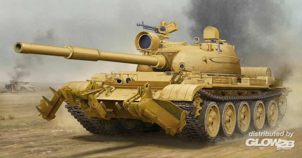 Trumpeter 01547 T-62 Mod.1960 (Iraq modification) in 1:35