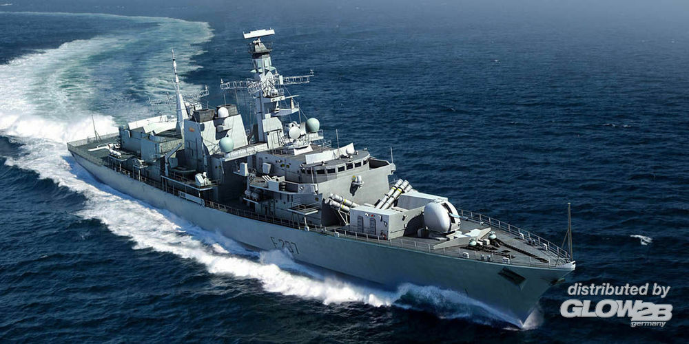 Trumpeter 04546 HMS TYPE 23 Frigate-Westminster(F237) in 1:350