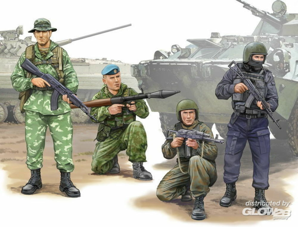 Trumpeter 00437 Russian Special Operation Force in 1:35