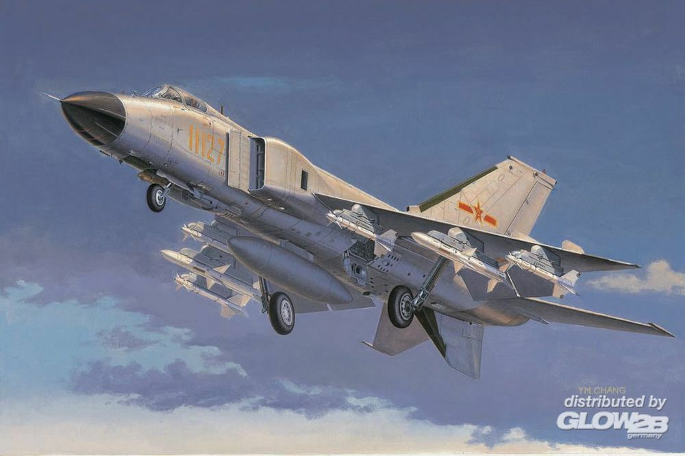 Trumpeter 02847 Chinese J-8IIF fighter in 1:48