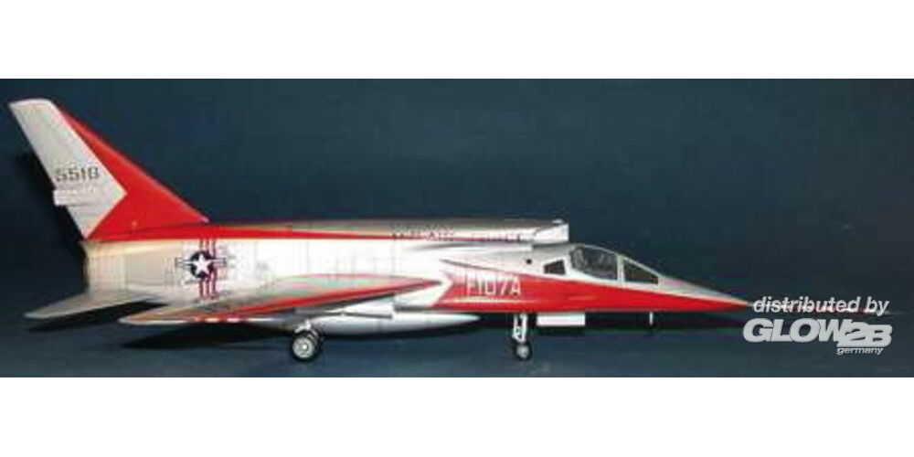 Trumpeter 01605 North American F-107 A Ultra Sabre in 1:72