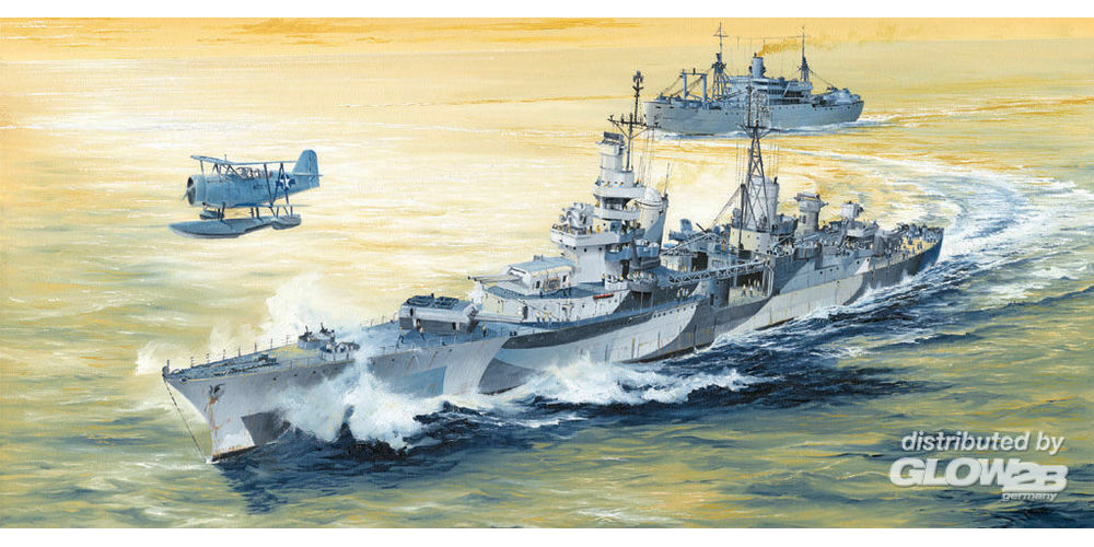 Trumpeter 05327 USS Indianapolis CA-35 1944 in 1:350