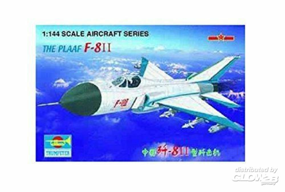 Trumpeter 01328 F-8 II China the Plaaf The Plaaf in 1:144