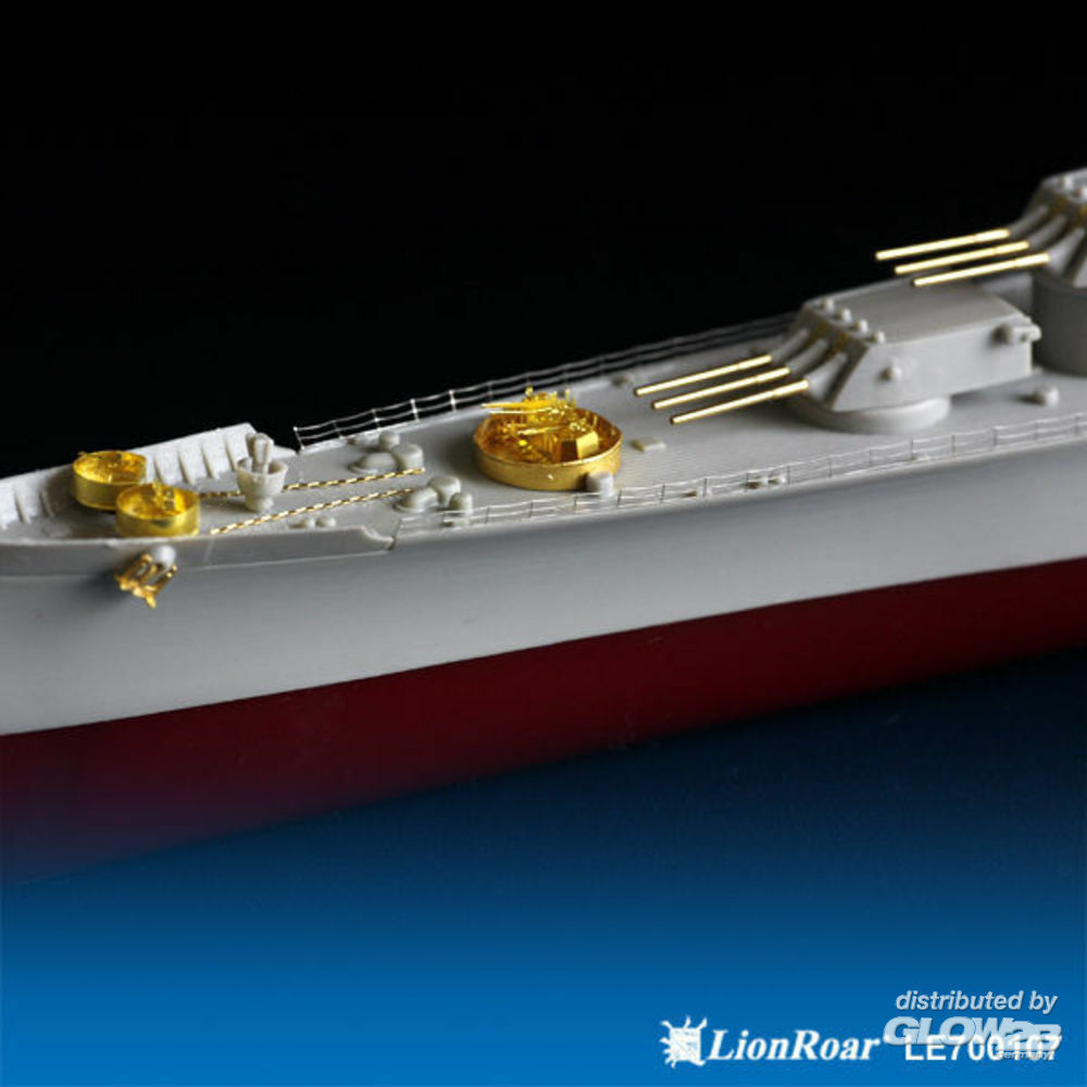 Lion Roar-GreatwallHobby LE700107 WWII USN Heavy Cruiser CA-68 Baltimore for Trumpeter in 1:700