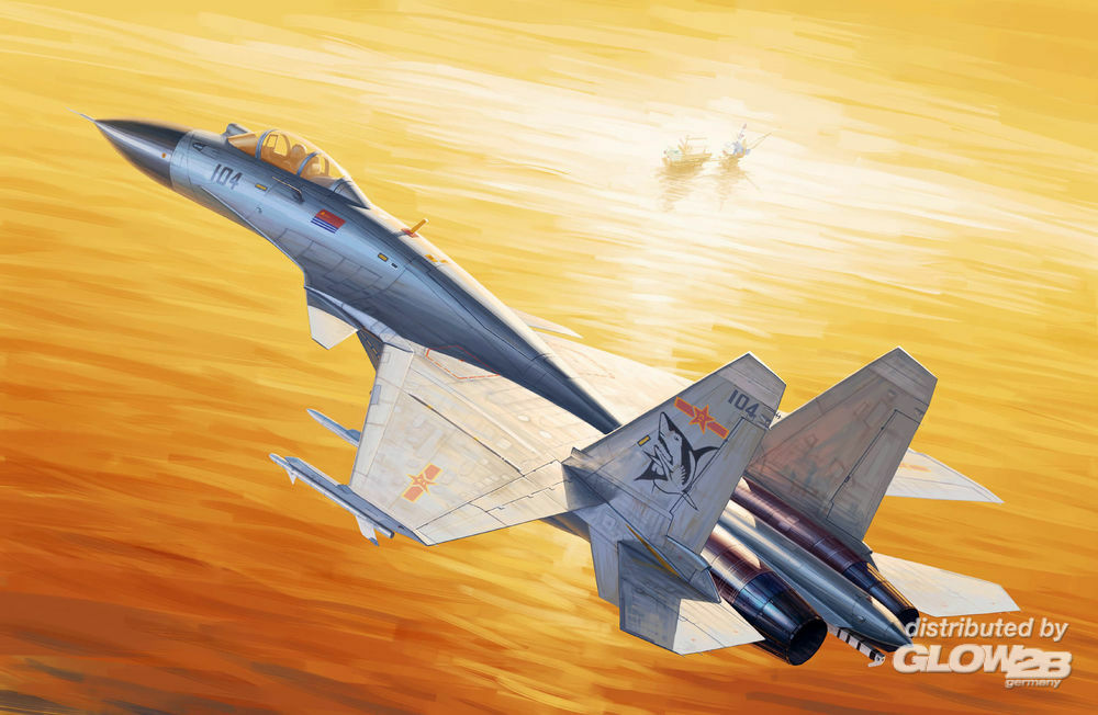 Trumpeter 01668 Chinese J-15 in 1:72
