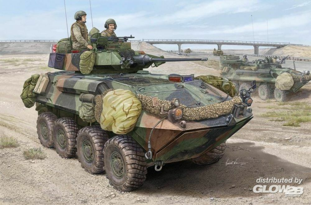 Trumpeter 01513 LAV-25 SLEP (Service Life Extension Pro) in 1:35