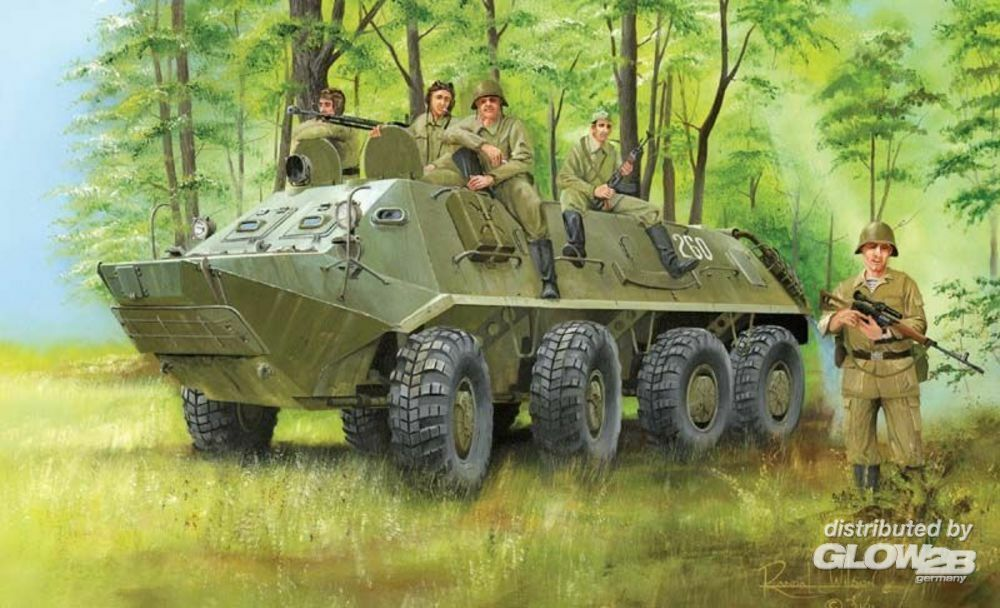 Trumpeter 01543 BTR-60PA in 1:35