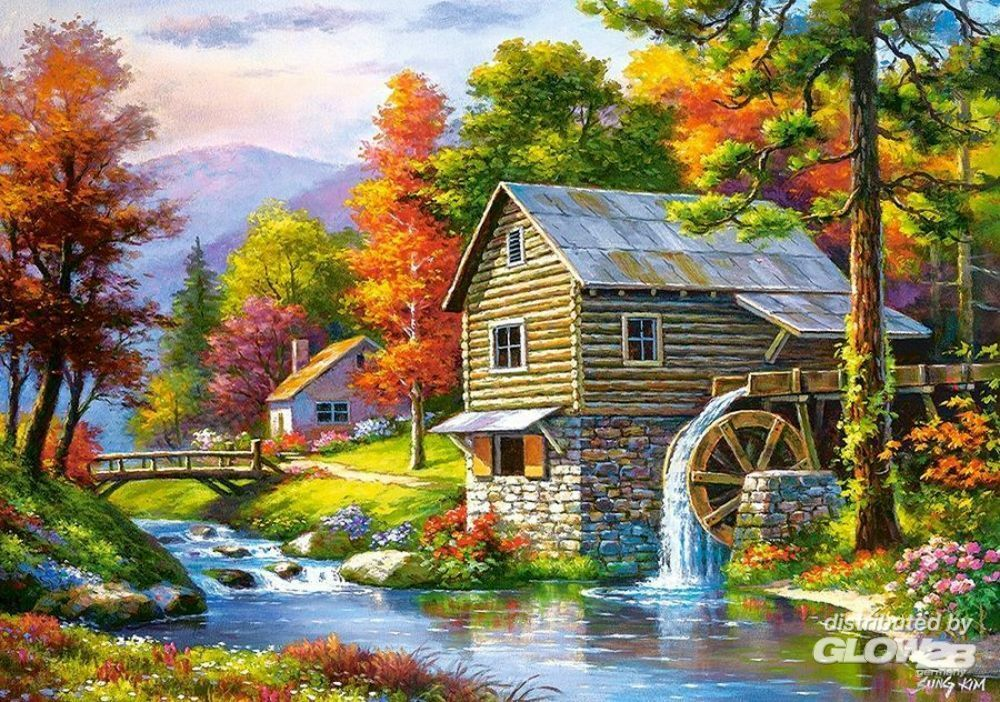 Castorland B-52691 Old Sutter`s Mill, Puzzle 500 Teile