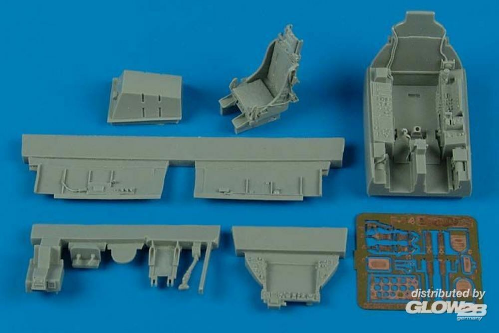 Aires 4461 F-84F Thunderstreak cockpit set for KIN in 1:48