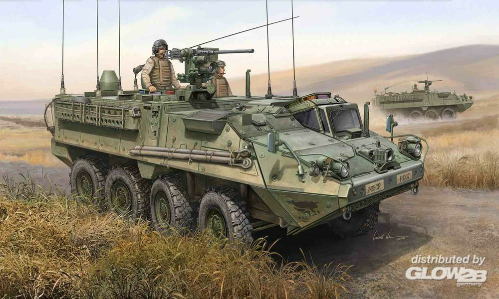 Trumpeter 00397 M1130 Stryker Command Vehicle in 1:35
