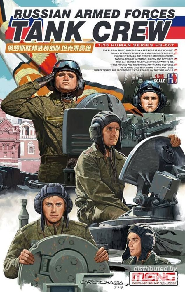 MENG-Model HS-007 Russian Armed Forces Tank Crew in 1:35