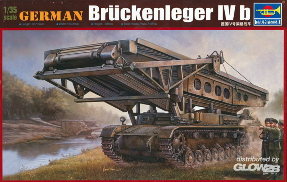 Trumpeter 00390 German  Brückenleger IV b in 1:35