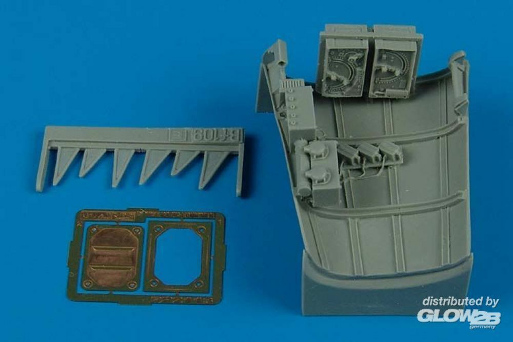 Aires 2113 Bf 109E radio equipment for Eduard in 1:32