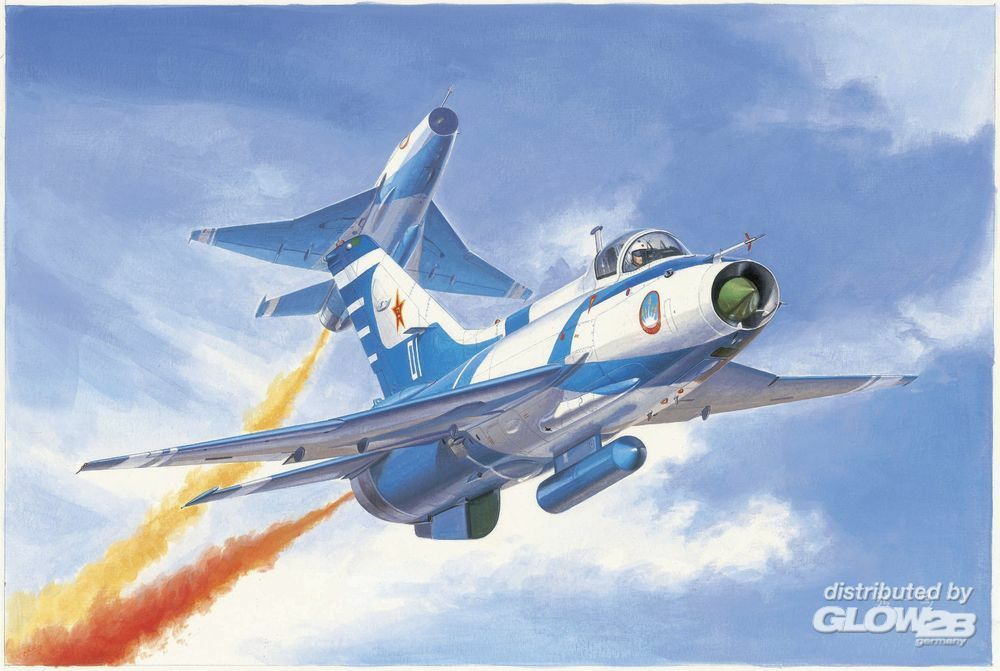 Trumpeter 02862 J-7GB Fighter in 1:48