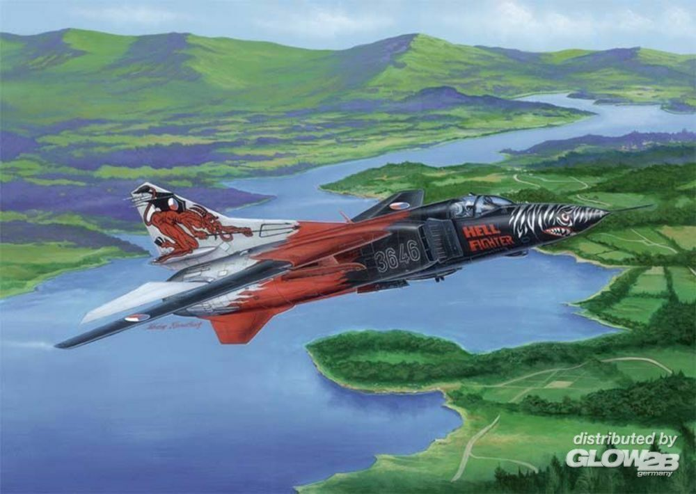 Trumpeter 02854 Russian MIG-23MF Flogger-B in 1:48
