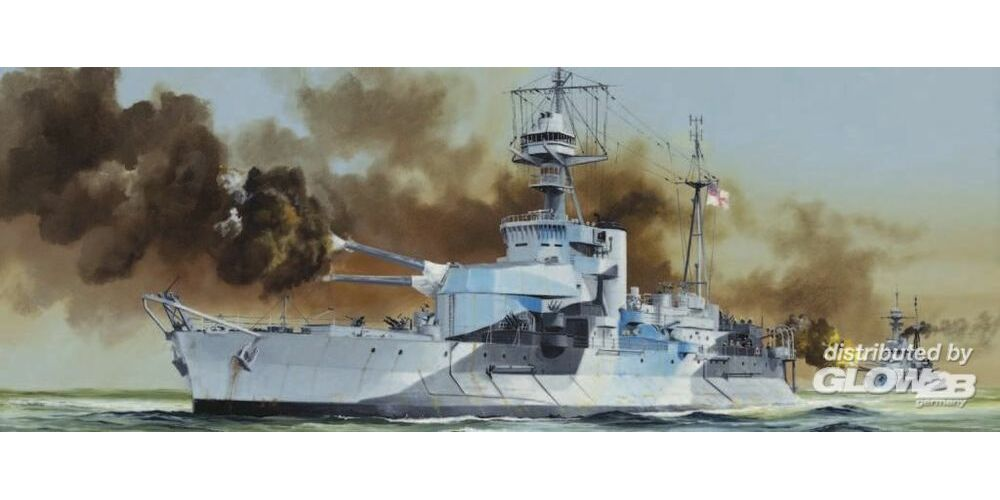 Trumpeter 05335 HMS Roberts Monitor in 1:350