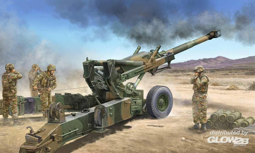 Trumpeter 02306 US M198 155mm Medium Towed Howitzer Early Version in 1:35