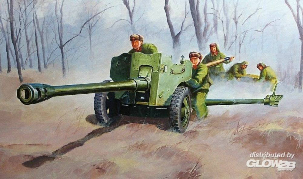 Trumpeter 02340 Chinese Type 56 Divisional Gun in 1:35