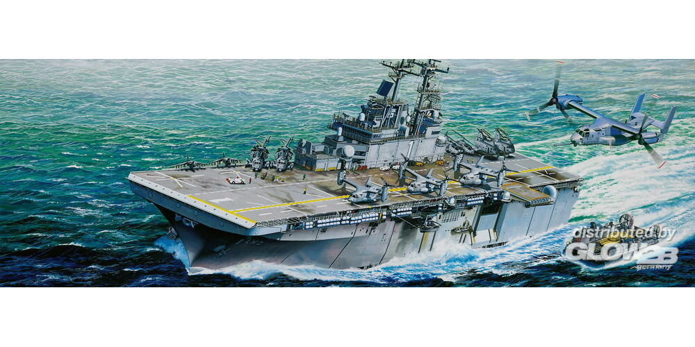 Trumpeter 05611 USS Wasp LHD-1 in 1:350