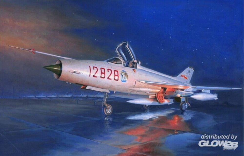 Trumpeter 02861 J-7G in 1:48