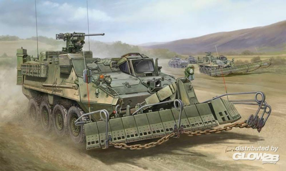 Trumpeter 01575 M1132 Stryker Engineer Squad Vehicle in 1:35