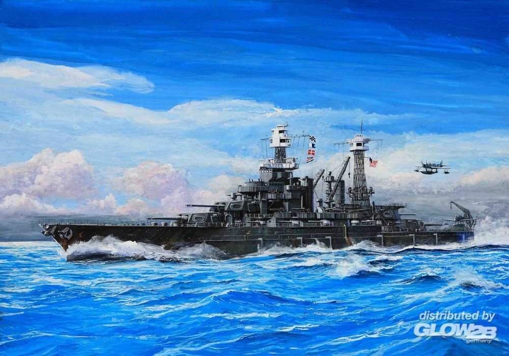 Trumpeter 05769 USS Maryland BB-46 1941 in 1:700