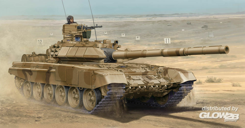 Trumpeter 05563 Rusian T-90C MBT-Welded Turret in 1:35