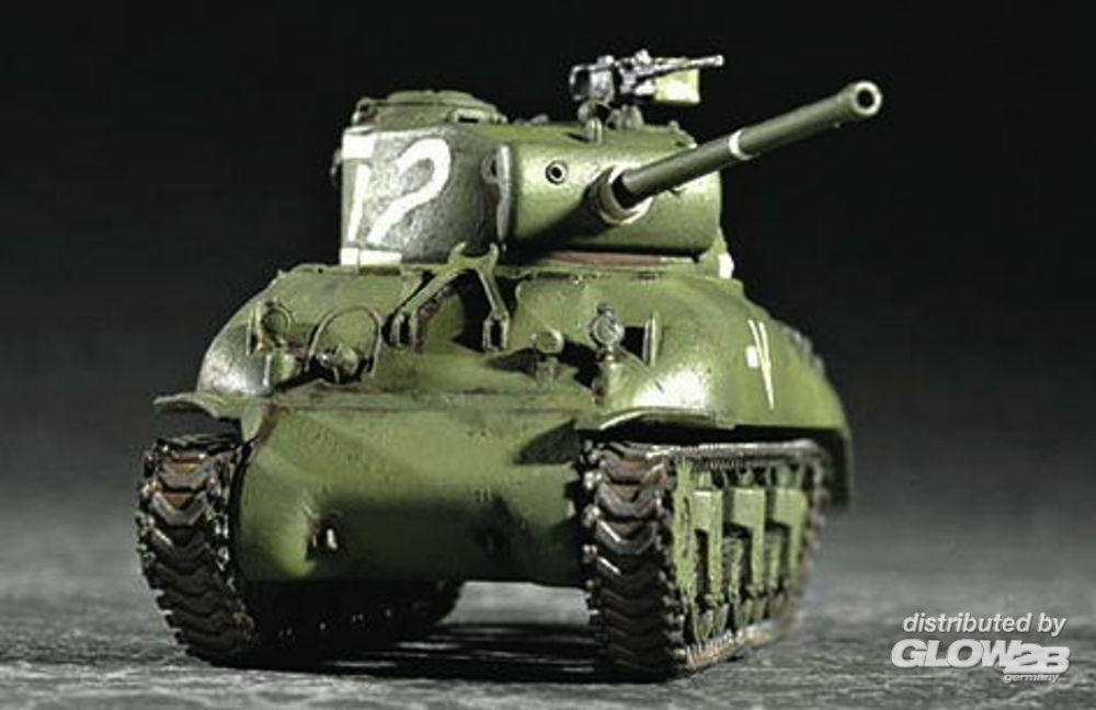 Trumpeter 07222 M4A1 (76) W Tank in 1:72