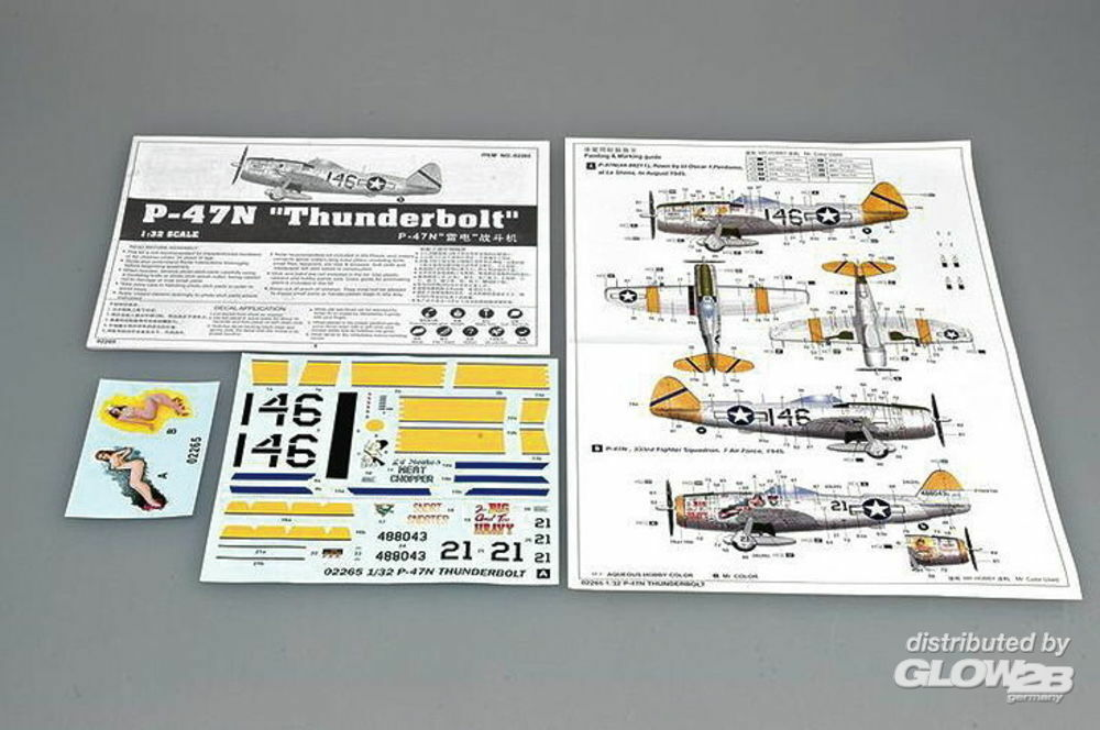 Trumpeter 02265 P-47N Thunderbolt in 1:32