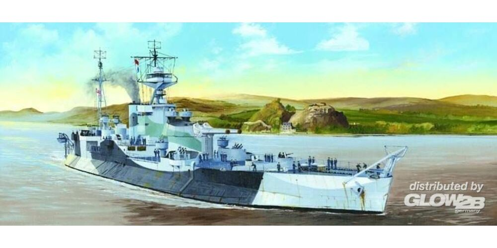 Trumpeter 05336 HMS Abercrombie Monitor in 1:350