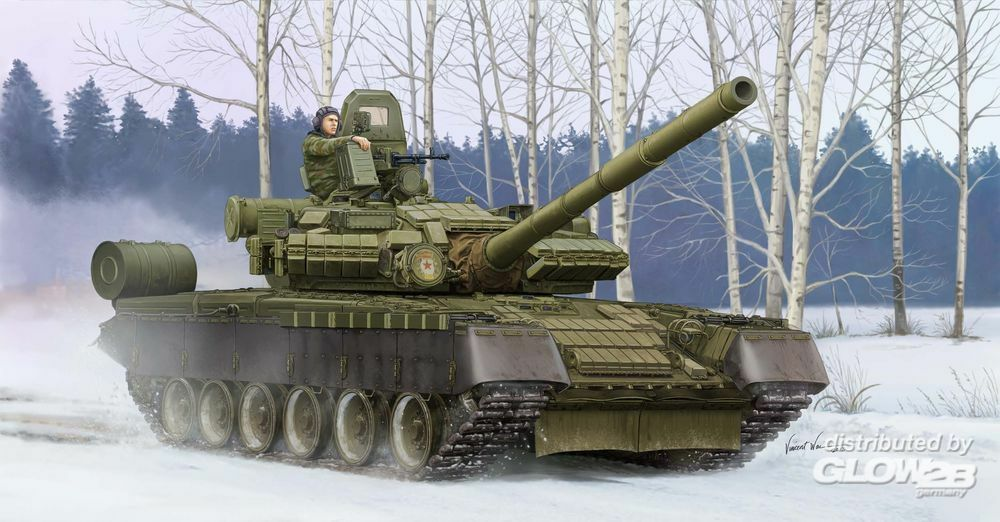 Trumpeter 05566 Russian T-80BV MBT in 1:35