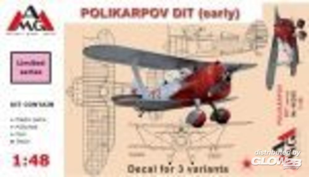 AMG AMG48305 Polikarpov DIT (early) in 1:48