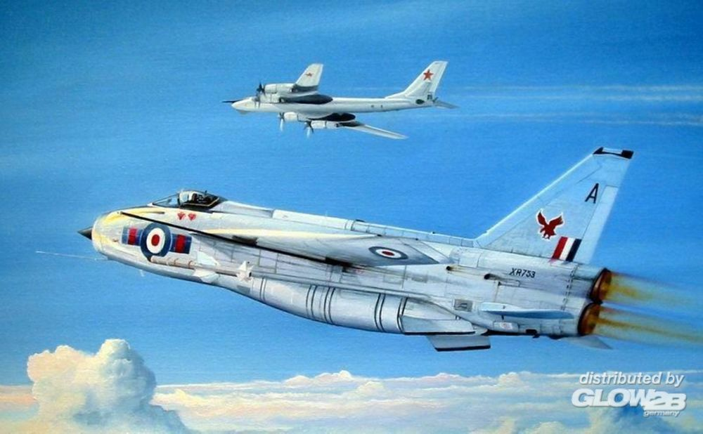 Trumpeter 01654 British Electric (BAC) Lightning F.2A/F.6 in 1:72