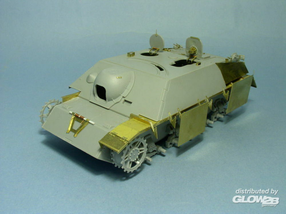 Lion Roar-GreatwallHobby LE35047 Skirt Armour for Jagdpanzer IV L/48,L/70 for DML in 1:35