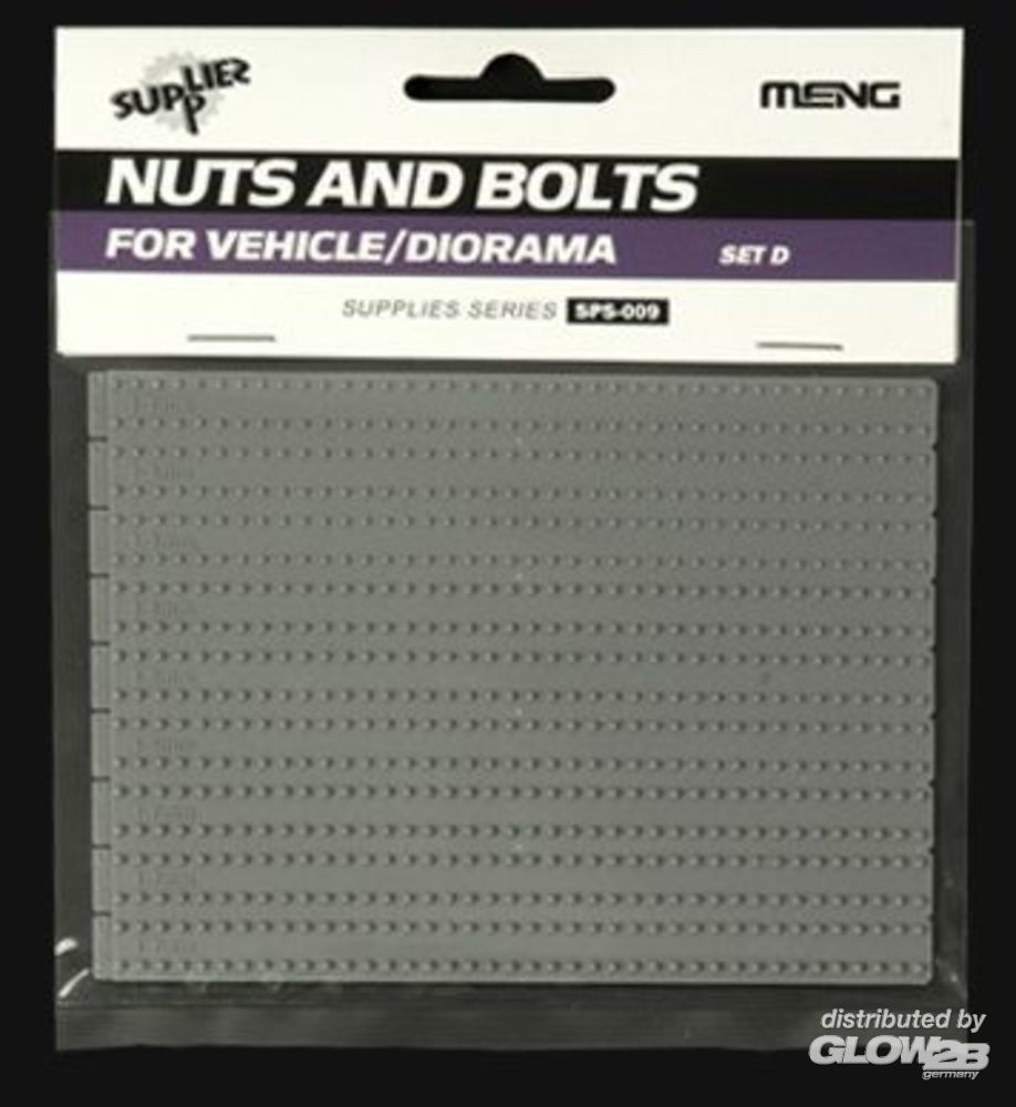 MENG-Model SPS-009 Nuts and Bolts SET D in 1:35
