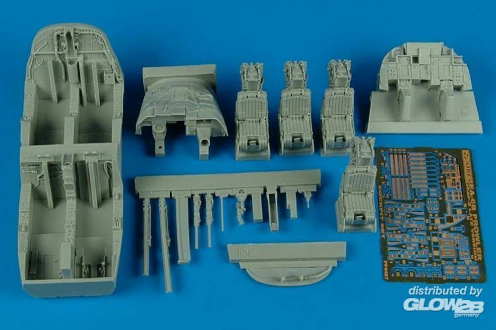 Aires 4487 EA-6B Prowler ICAP-2 (late) cockpit set in 1:48