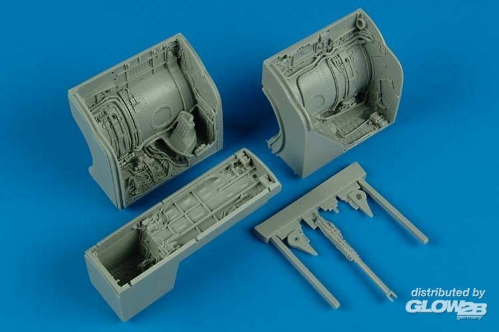 Aires 2133 MiG-23 Flogger wheel bay for Trumpeter in 1:32
