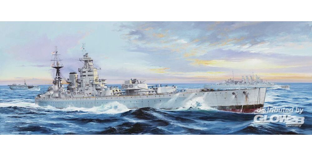 Trumpeter 03708 HMS Nelson 1944 in 1:200