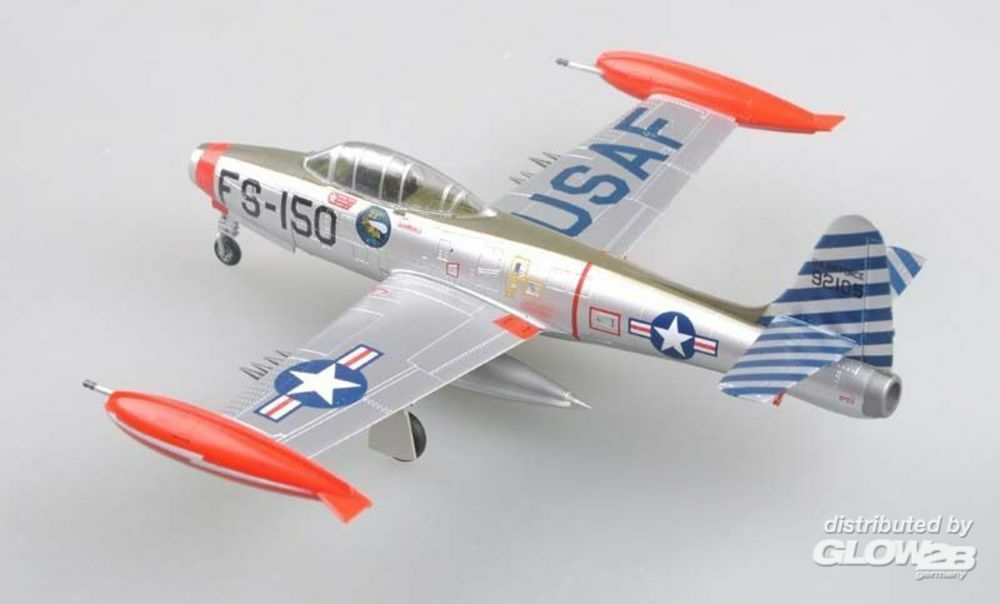 Easy Model 37109 F-84E49-2105,Was assigned to22nd Fighter in 1:72