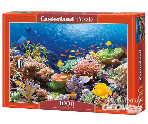 Castorland C-101511-2 Coral Reef Fishes,Puzzle 1000 Teile
